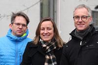 Stefan Lüdecke, Bettina Groß, Joachim Hochstein